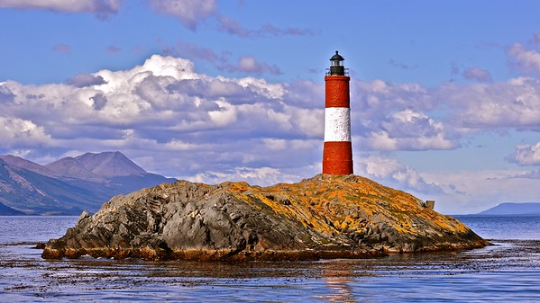 Ushuaia - Les Eclaires Lighthouse in the Beagle Channel