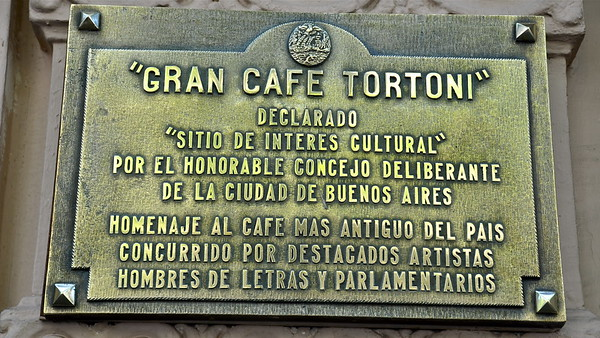 Gran Café Tortoni - Buenos Aires