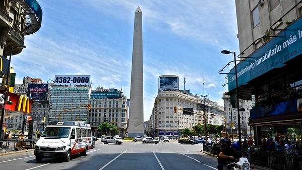 Buenos Aires - Av. Neuve de Julio