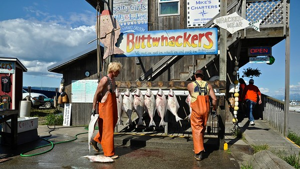 Homer - Halibut Fishing Capital of the world