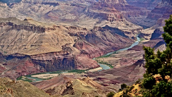 Grand Canyon - Colorado River - South Rim - Arizona