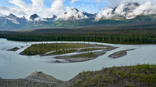 Athabasca Pass - River