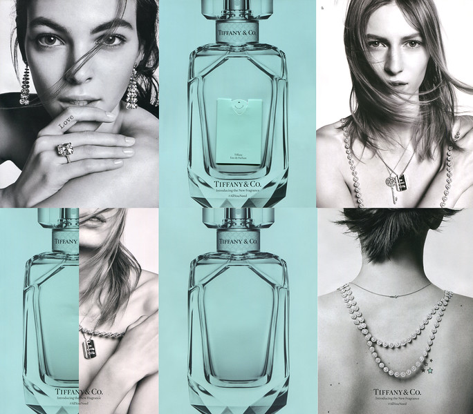 """TIFFANY Eau de Parfum 2017 Italy 6 pages with Imagin sample'(simple page + 2 recto-verso inserts + simple page) Introducing the new fragrance'<br /> <br /> MODELS: Vittoria Ceretti & Julia Nobis, PHOTO: Steven Meisel<br /> <br /> TV COMMERCIAL: <a href=""""https://www.youtube.com/watch?v=0BG6lYftin8"""">https://www.youtube.com/watch?v=0BG6lYftin8</a>"""