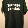 "Teenage Fanclub, 2016. This classic ""stencil"" logo dates from the early 90s, so this is probably a reissue, repress, or re-design of an older shirt. Bought at the Birmingham Digbeth Institute on 26th November."