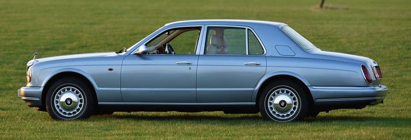 T891JDW Rolls Royce Silver Seraph