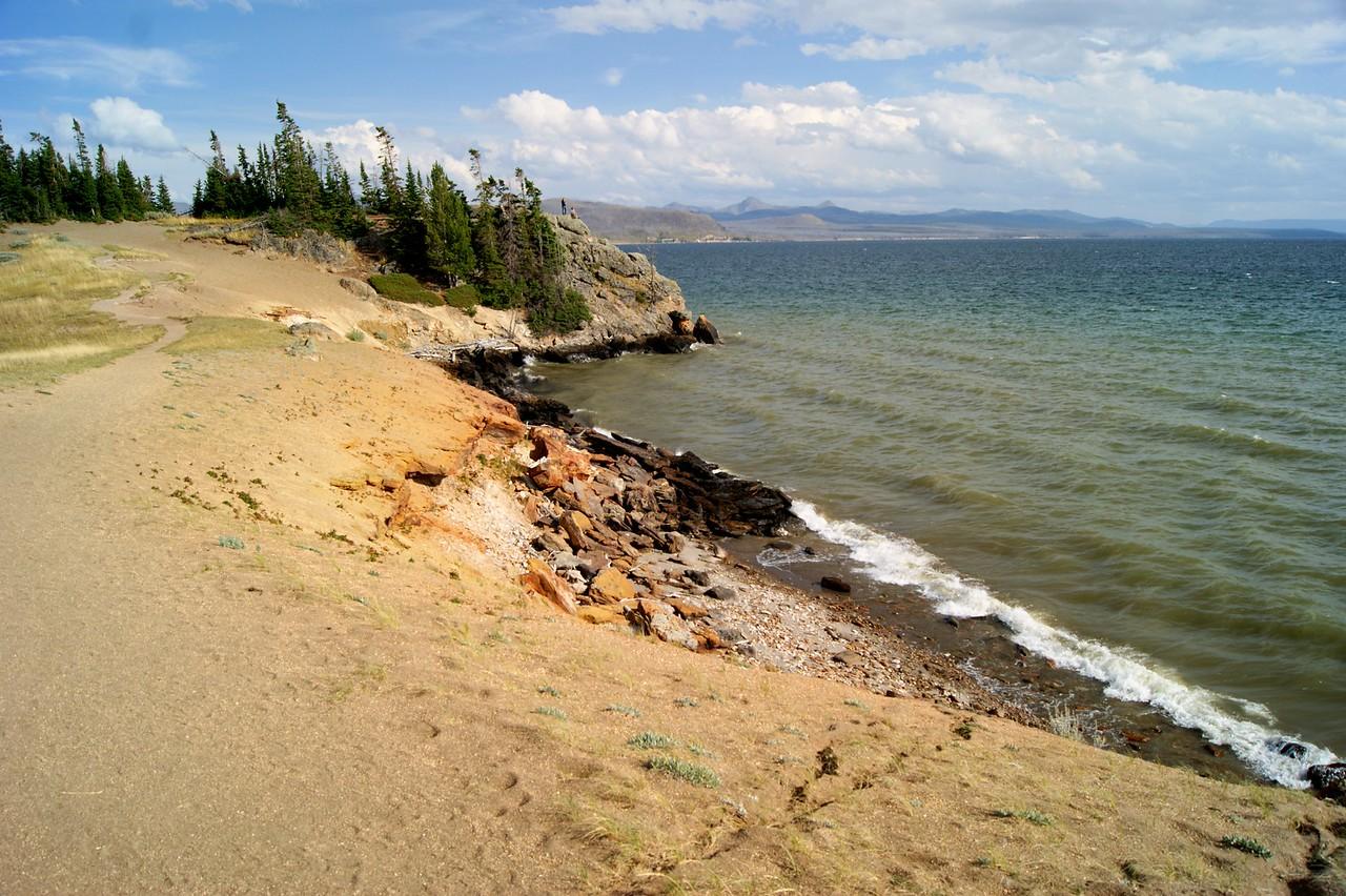 Storm Point Lake Yellowstone
