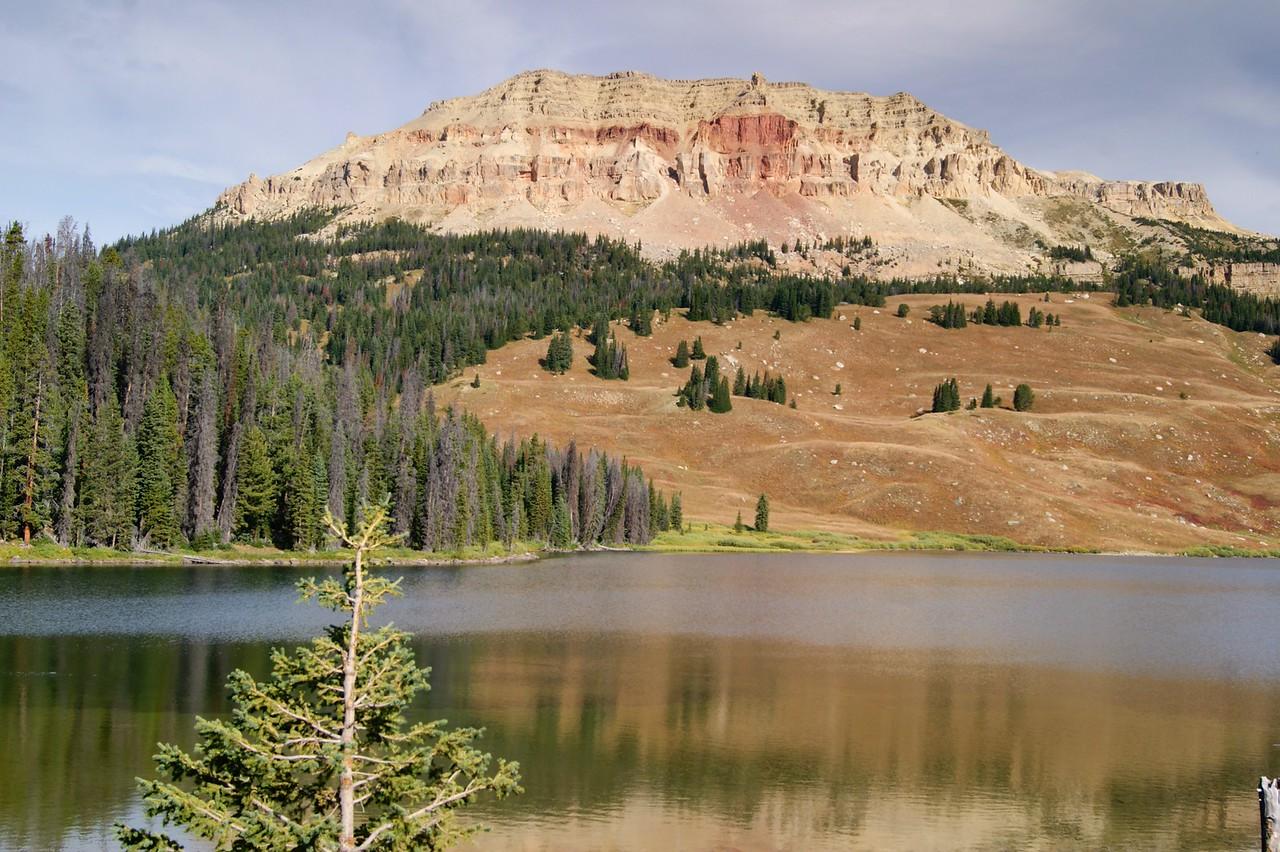 A stop at Beartooth Lake