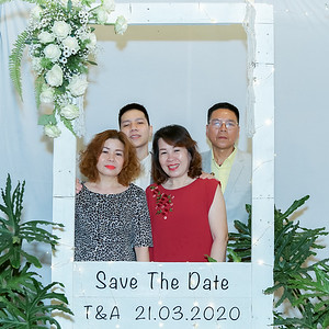 T&A wedding instant print photo booth @ Saigon Botany | Chụp ảnh in hình lấy liền Tiệc cưới tại TP Hồ Chí Minh | Photobooth Saigon