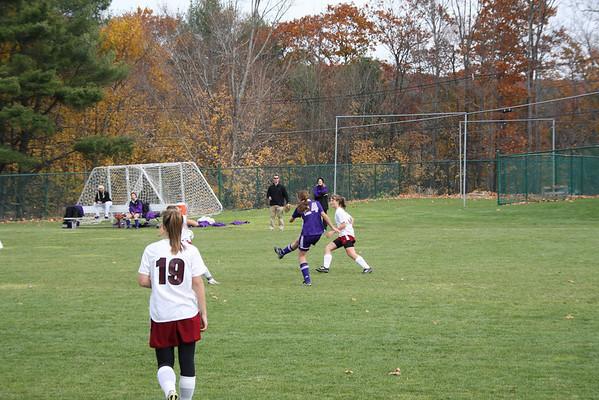 Kayla Soccer at Cushing