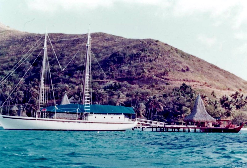 Trip to French Polynesia (Tahiti, Bora Bora, Moorea) in August of 1977