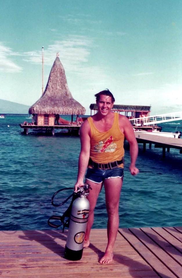 Scuba diving Trip to Moorea