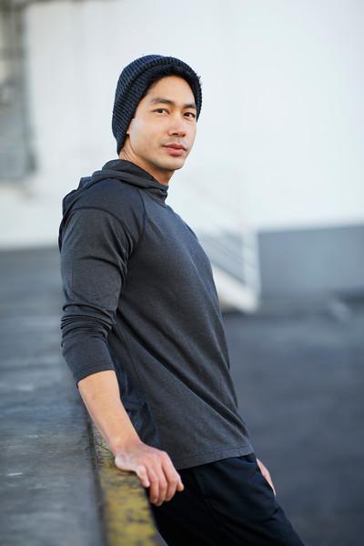 BRIAN S, 31 @bssbodyark 6'1 | Shirt L | Pant: 32 | Shoes 10 | 175 lbs Ethnicity: Native Korean