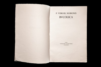 The second book designed by Alberto Tallone.
