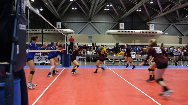 TAMU Club Volleyball - a few video clips