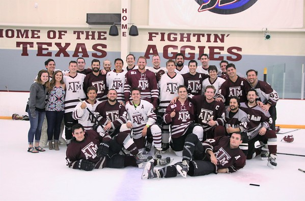 2017 Sept TAMU Hockey Alumni Game