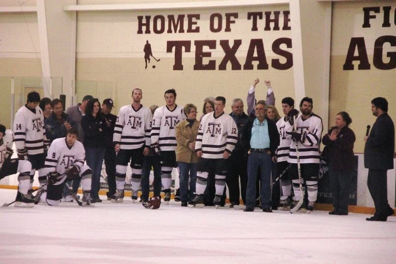 TAMU vs TTech 2-16-13 Senior Recog (8)