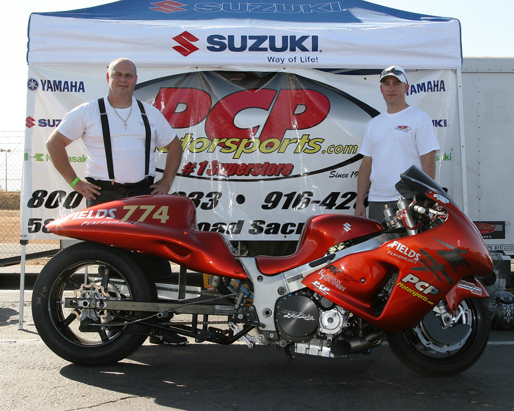 Mike Sr with Austin from sponsor PCP Motorsports