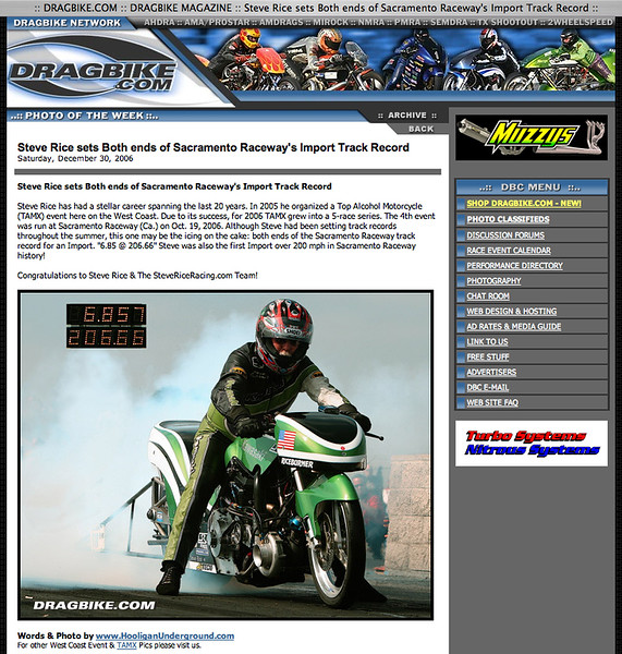 """12/30/06  -  """"PHOTO OF THE WEEK"""" !!<p><a href=""""http://www.dragbike.com/dbnews/anmviewer.asp?a=2692&z=7/"""" target=""""_new""""> CLICK HERE TO SEE</a></p>"""