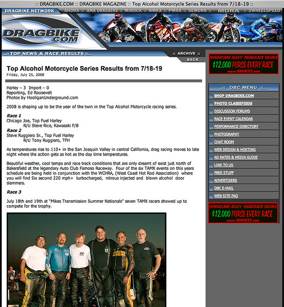 """7/25/08-For Full Report: <p><a href=""""http://www.dragbike.com/dbnews/anmviewer.asp?a=4160&z=13/"""" target=""""_new""""> CLICK HERE TO SEE</a></p>"""