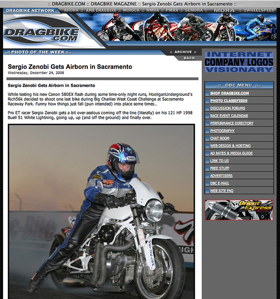 """12/24/08-To see the full 6 shot 'airborn' sequence: <p><a href=""""http://www.dragbike.com/dbnews/anmviewer.asp?a=4580&z=7/"""" target=""""_new""""> CLICK HERE TO SEE</a></p>"""