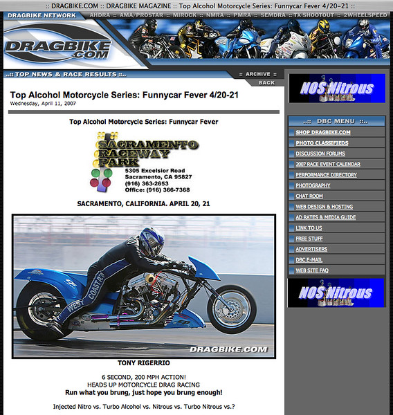 """4/11/07 - For Full Flyer: <p><a href=""""http://www.dragbike.com/dbnews/anmviewer.asp?a=2925&z=14/"""" target=""""_new""""> CLICK HERE TO SEE</a></p> (Photo only)"""