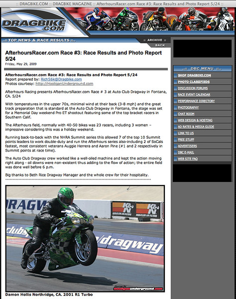 """5/29/09: To see the complete article:<p><a href=""""http://www.dragbike.com/dbnews/anmviewer.asp?a=4898&z=13/"""" target=""""_new""""> CLICK HERE TO SEE FULL ARTICLE!!</a></p>"""