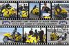 NHRA 2009 SUMMIT E T CHAMPION AUGUSTINE HERRERA AWARDED THIS CUSTOM HOOLI-POSTER TO A SPONSOR !!