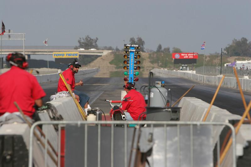 The AAA crew - always top notch track prep!