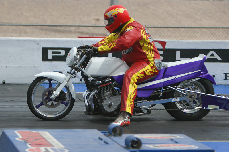 Trey McGee on Big Bruces bike