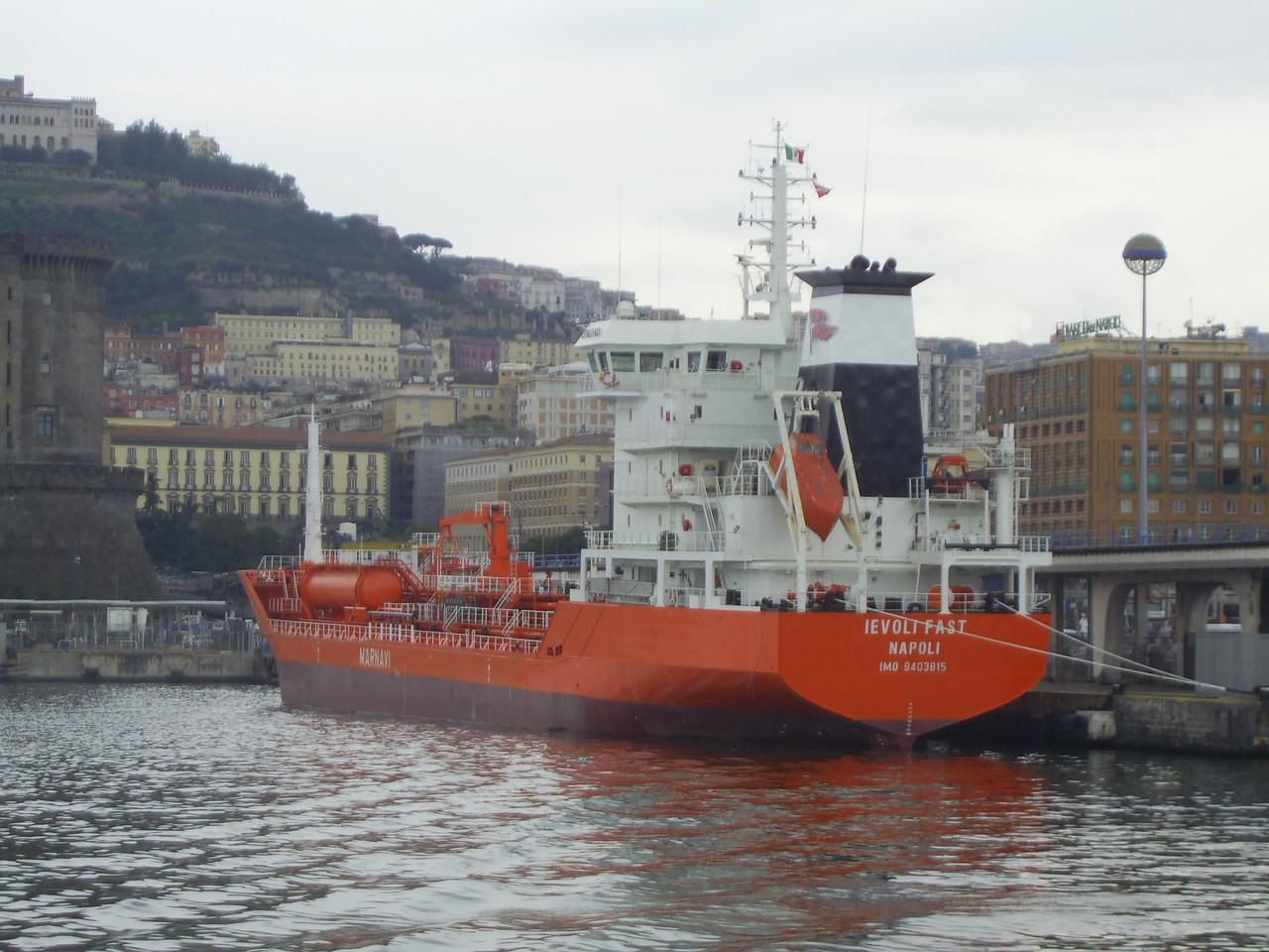 2008 - M/S IEVOLI FAST in Napoli.