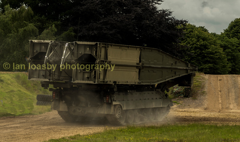 RE (Royal engineers) Titon bridging unit.