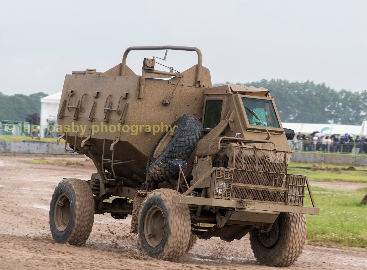 SOUTH AFRICAN MINE BLAST PROTECTION VEHICLE