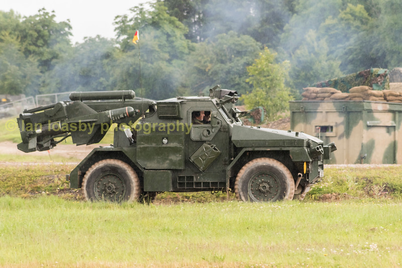 Humber Hornet Malkara guided missile anti tank vehicle