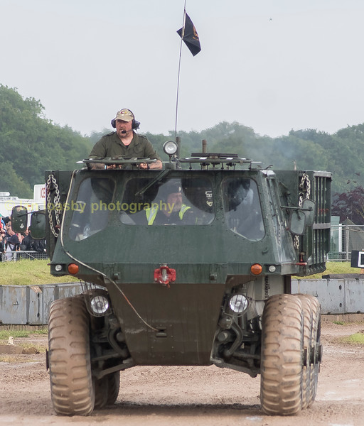 A 'STOLLY' as they where colloquilly known  in the RCT (Royal Corps of Transport), an amphibious ALVIS STALWART MKII