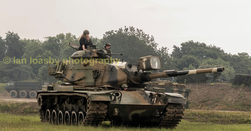 M60A1 MAIN BATTLE TANK ( USA)