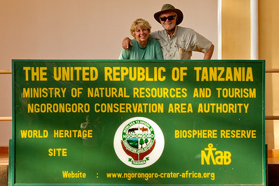 PATSY and DIK WELCOME to TANZANIA