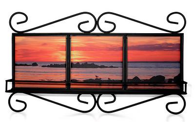 WI shelf BI sunset