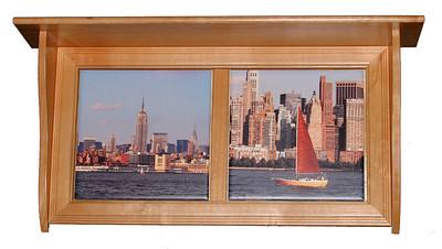 Wood Shelf NYC Red fix