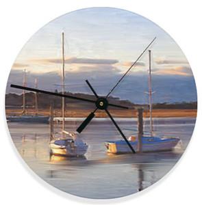 clock edgartown boats