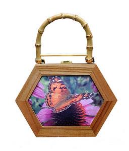 Cigar Box Bag Octagonal