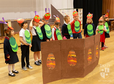 The Very Hungry Caterpillar and More - Focolare Assembly!