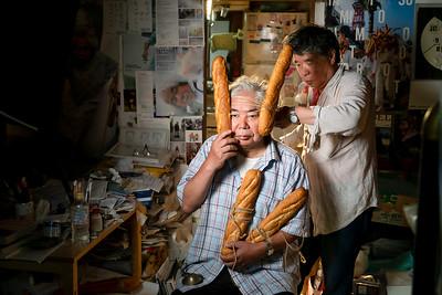 16 Tatsumi Orimoto - Breadman performance © David Bickerstaff