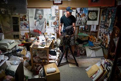 04 Filming Tatsumi Orimoto studio © David Bickerstaff