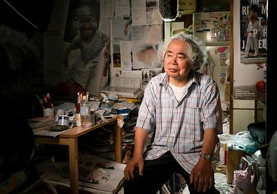 12 Tatsumi Orimoto - artist © David Bickerstaff