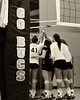 CSU attempts to rally during their loss to Gardner-Webb October 21, 2011 (20-25, 11-25, 25-23, 22-25)