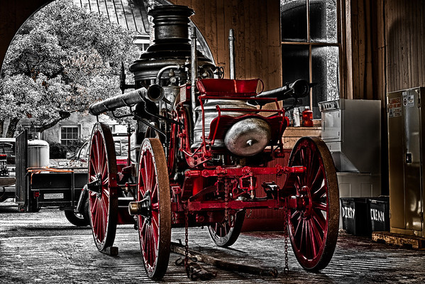 Fire Wagon<br /> Sep 3rd: I've posted this photo before, but I decided to re-edit it. I personally prefer it a lot more now.