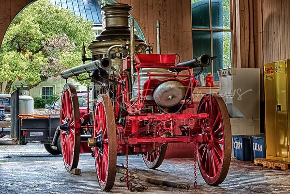 Aug 29th: Horse Drawn Fire Wagon