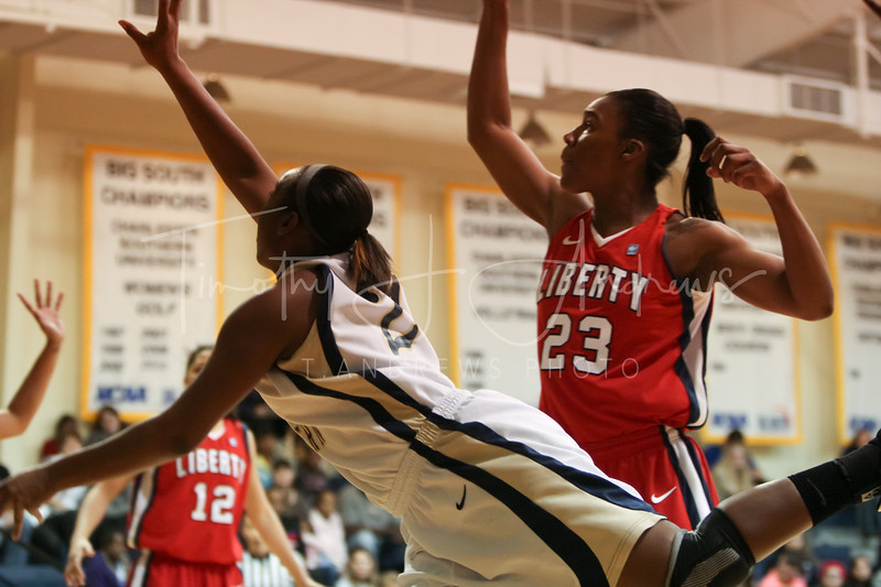CSU fell to Liberty, 64-79. January 16, 2012