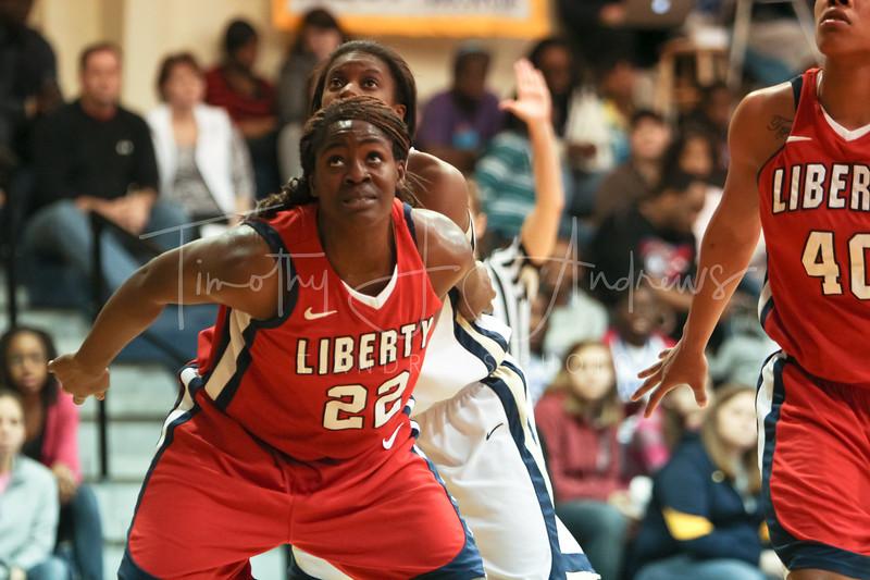 CSU fell to Liberty, 64-79. January 16, 2012