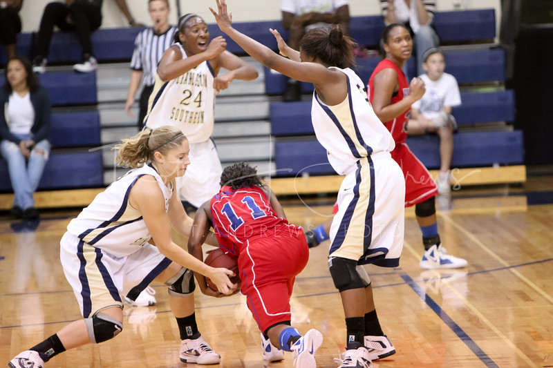 The Lady Bucs show their depth, taking down Bluefield College 81-43. November 22, 2011